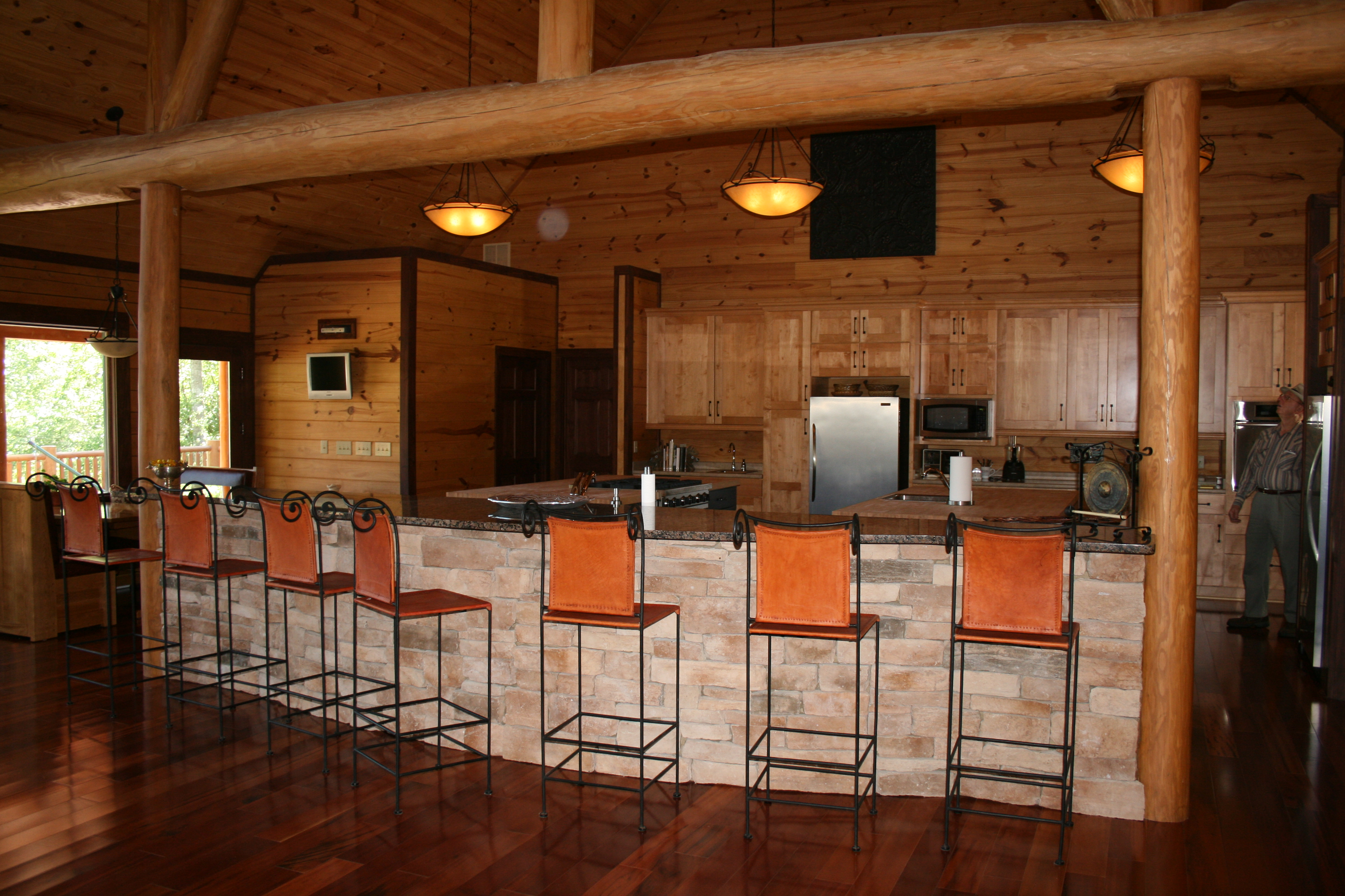 Cabinets | Flint River Log Homes