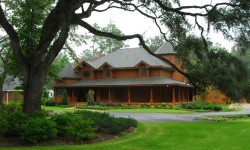 River Oaks Log Home