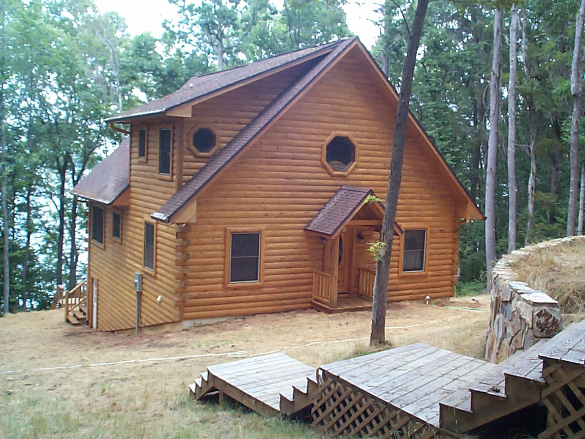 Siding Flint River Log Homes