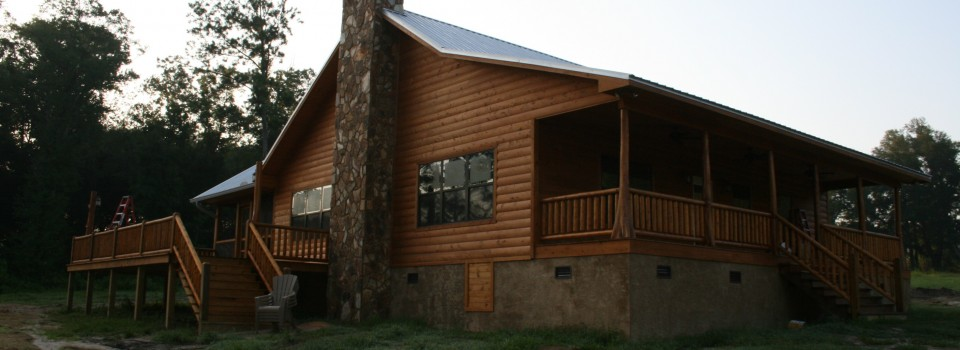 Albritton Log Home