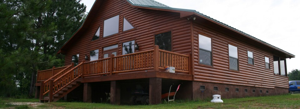 Log Homes, Log Home Plans and Products | Flint River Log Homes