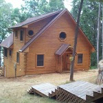 Log Home Siding, Siding, Exterior Log Home Siding