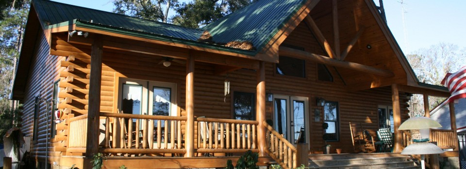The Spring Creek Log Home